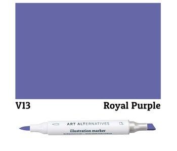 Art Alternatives ILLUSTRATION MARKER ROYAL PURPLE