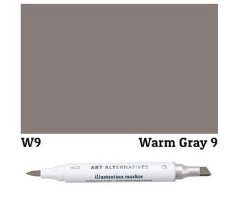 AA ILLUSTRATION MARKER WARM GRAY 9 W9