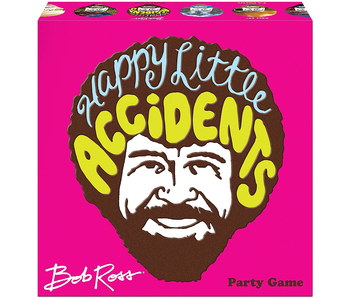 BOB ROSS PARTY GAME - HAPPY LITTLE ACCIDENTS