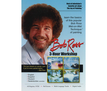 Bob Ross DVD 3hr Workshop