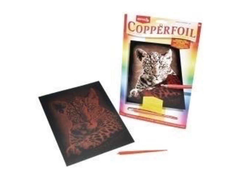 Reeves Copperfoil Leopard