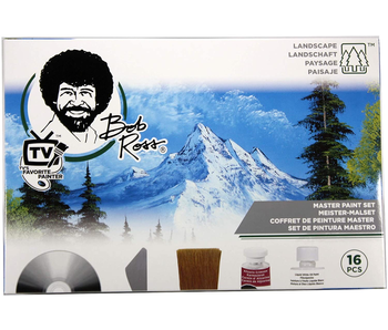 BOB ROSS MASTER PAINT SET JOY OF PAINTING