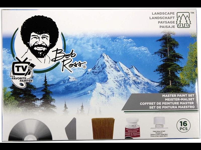 Bob Ross Art Supplies BOB ROSS MASTER PAINT SET JOY OF PAINTING