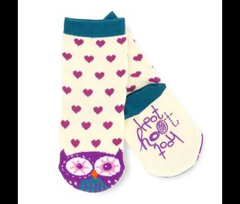 LBH Hoot Hoot Kids Animal Socks (4-7)