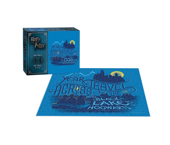 Harry Potter Puzzle 200 First Year Students Travel Across The Big Black Lake to Hogwarts