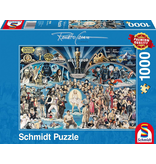 Schmidt Puzzle: 1000 Piece Hollywood