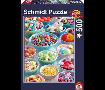 SCHMIDT PUZZLE 500: SWEET TEMPTATIONS