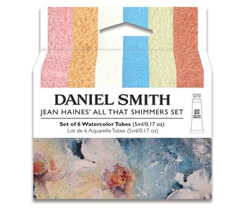 Dan Smith Watercolor Jean Hayes 6-Color All That Shimmers 5ml Set