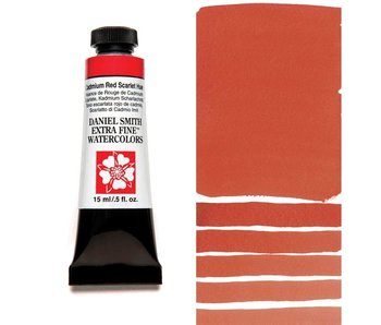Daniel Smith 15ml Cadmium Red Scarlet Hue Extra-Fine Watercolor