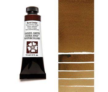 DANIEL SMITH XF WATERCOLOR 15ML BURNT UMBER