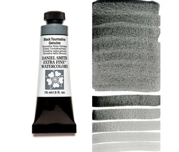 DANIEL SMITH XF WATERCOLOR 15ML BLACK TOURMALINE GENUINE