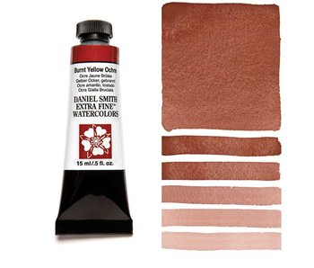 DANIEL SMITH XF WATERCOLOR 15ML BURNT YELLOW OCHRE