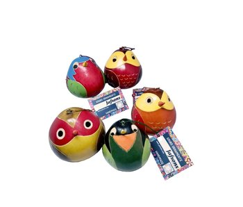 GOURD ORNAMENTS - BIRDIE ASSORTED