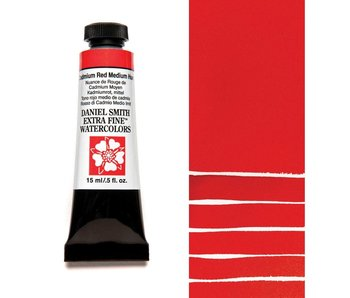 DANIEL SMITH XF WATERCOLOR 15ML CADMIUM RED MEDIUM HUE
