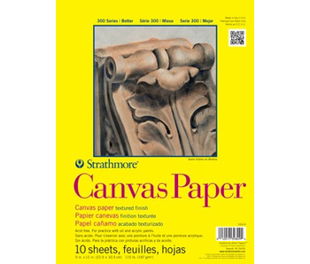 STRATHMORE CANVAS PAPER 9x12