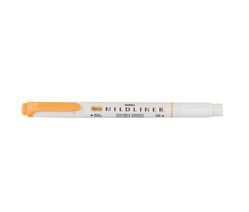 MILDLINER CREATIVE MARKER ORANGE