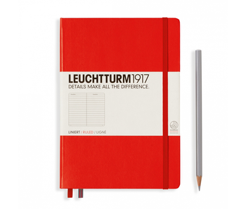 Leuchtturm1917 Notebook Medium Ruled Red