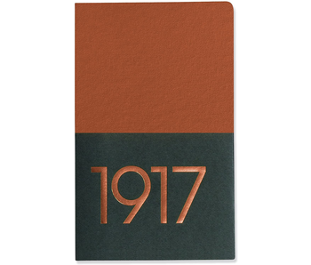 LEUCHTTURM 1917 NOTEBOOK JOTTBOOK COPPER PLAIN