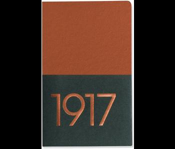 LEUCHTTURM 1917 NOTEBOOK JOTTBOOK COPPER PLAIN