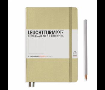 Leuchtturm1917 Notebook Medium Dotted Sand