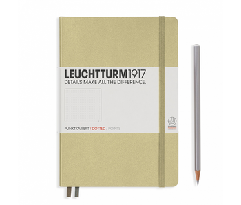 Leuchtturm1917 Notebook Medium Dotted Sand