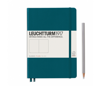 Leuchtturm1917 Notebook Medium (A5) Pacific Hardcover Plain