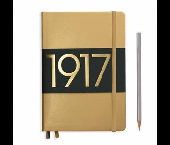 Leuchtturm1917 Notebook Medium Gold Ruled