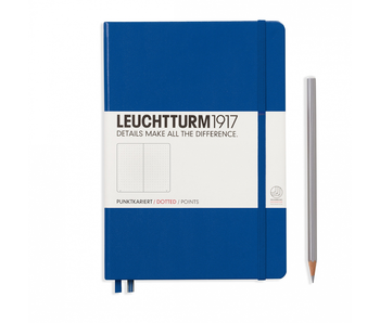 Leuchtturm1917 Notebook Medium Dotted Royal Blue