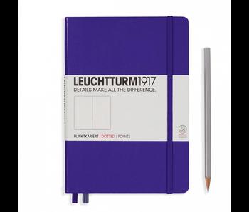 Leuchtturm1917 Notebook Medium Dotted Purple