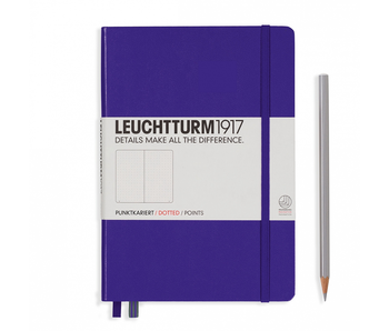 Leuchtturm1917 Notebook Medium Dotted Purple