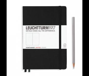 Leuchtturm1917 Notebook Medium Dotted Black