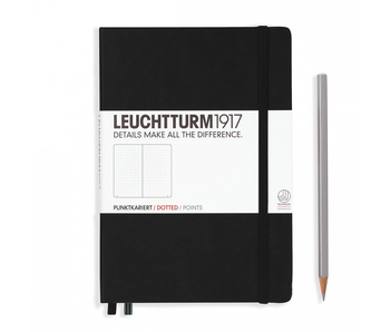 Leuchtturm1917 Notebook Medium Dotted Black