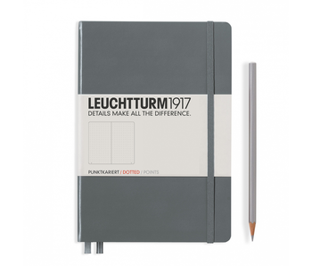 Leuchtturm1917 Notebook Medium Dotted Anthracite