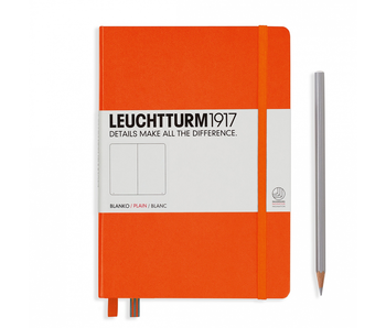 Leuchtturm1917 Notebook Medium Plain Orange