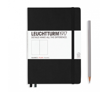 Leuchtturm1917 Notebook Medium Plain Black