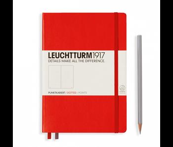Leuchtturm1917 Notebook Medium Dotted Red
