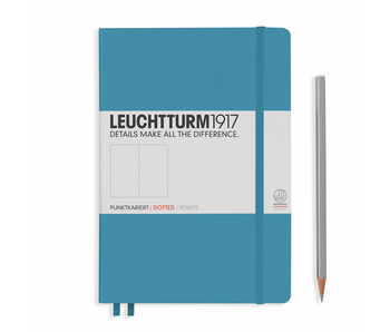 Leuchtturm1917 Notebook Medium Dotted Nordic Blue