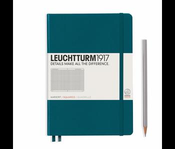 Leuchtturm1917 Notebook Medium (A5) Pacific Hardcover Squared