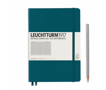 Leuchtturm1917 Notebook Medium (A5) Pacific Hardcover Squared