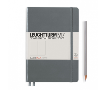 Leuchtturm1917 Notebook Medium Plain Anthracite
