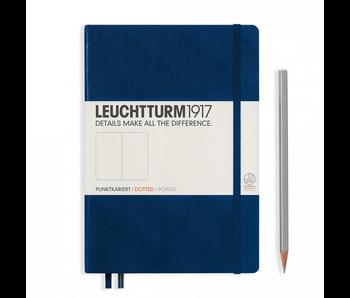 Leuchtturm1917 Notebook Medium Dotted Navy Blue