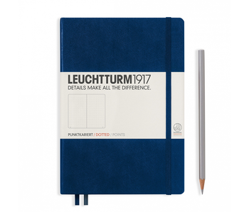 Leuchtturm1917 Notebook Medium Dotted Navy Blue