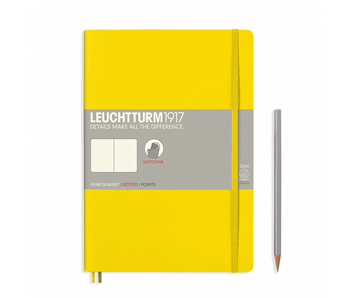 Leuchtturm1917 Soft Cover Notebook Large Dotted Lemon