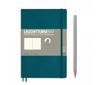 Leuchtturm1917 Notebook Softcover Paperback Plain Pacific