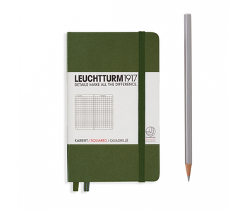 Leuchtturm1917 Notebook Pocket Squared Army