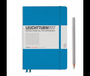 Leuchtturm1917 Notebook Medium Squared Azure