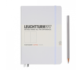 Leuchtturm1917 Notebook Medium Dotted White