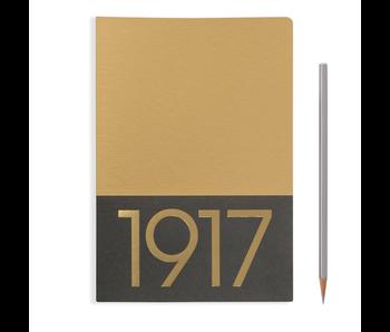 Leuchtturm1917 Notebook Jottbook Medium Gold Blank