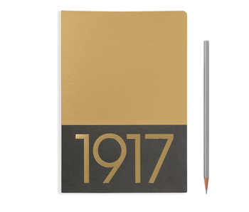 Leuchtturm1917 Notebook Jottbook Medium Gold Blank