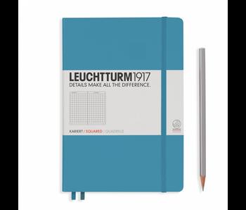 Leuchtturm1917 Notebook Medium Squared Nordic Blue